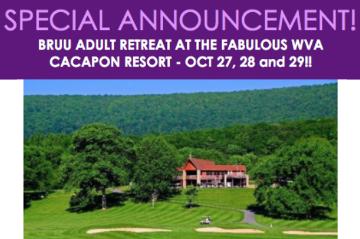 Announcing BRUU Adult Retreat